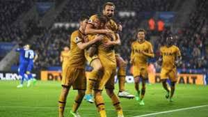 Spurs Libas Leicester 6-1