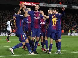 Barcelona Atasi Valencia 1-0