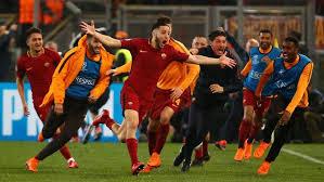 Roma Singkirkan Barcelona
