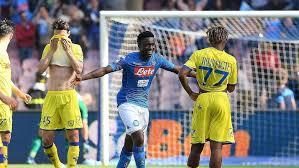 Napoli Atasi Chievo 2-1