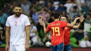 Spanyol Atasi Tunisia 1-0