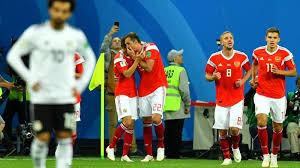Rusia Kalahkan Mesir 3-1