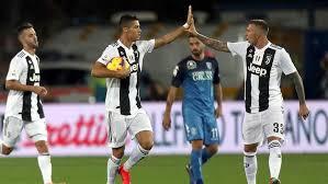 Juventus Kalahkan Empoli 2-1