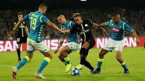 Napoli vs PSG Berakhir Imbang