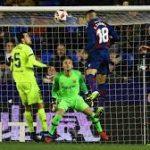 Barcelona Ditekuk Levante 1-2
