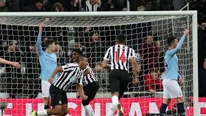City Ditekuk Newcastle 1-2