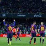 Messi Hat-trick, Barca Hajar Betis 4-1