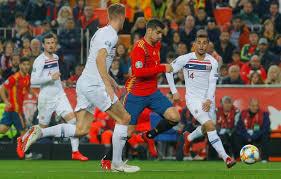 Spanyol Tundukkan Norwegia 2-1