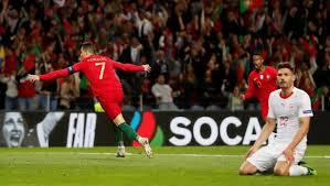 Portugal Kalahkan Swiss 3-1