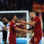 Roma Atasi Brescia 3-0