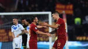 Roma Kalahkan Brescia 3-0