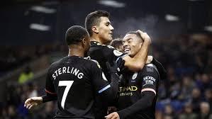 City Hajar Burnley 4-1