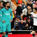 Barcelona Ditekuk Valencia 0-2