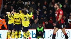 Arsenal Depak Bournemouth