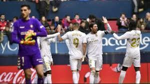 Madrid Hajar Osasuna