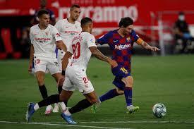 Barcelona Diimbangi Sevilla