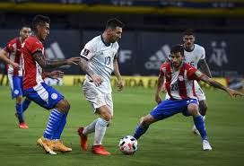 Argentina Diimbangi Paraguay 1-1